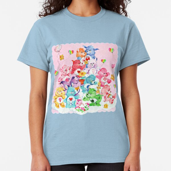 Care Bear, Care Bear Cousins, Retro 80s Cartoon Cute Classic T-Shirt