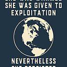 Mutter Erde widersteht und bleibt immer am Tag der Erde von electrovista