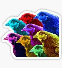 Chick fever III Sticker