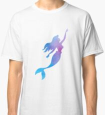 Mermaid Watercolor Classic T-Shirt