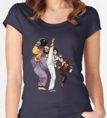 The King of Fighters 97 Women's Fitted Scoop T-Shirt