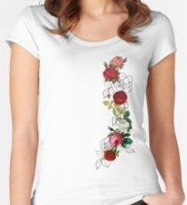 Flowers...flowers Women's Fitted Scoop T-Shirt