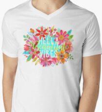 Hella Beautiful Vibes Men's V-Neck T-Shirt