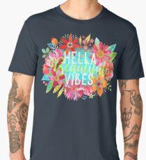 Hella Beautiful Vibes Men's Premium T-Shirt