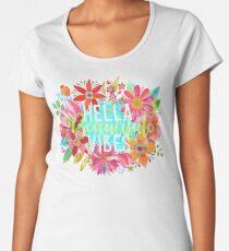 Hella Beautiful Vibes Women's Premium T-Shirt