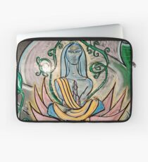 Yogic Ascension (from Chalk Meditation #5) Laptop Sleeve