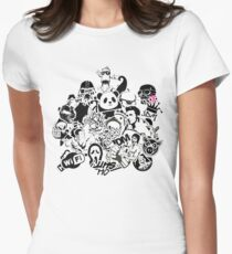 t-shirt funny Various characters Womens Fitted T-Shirt