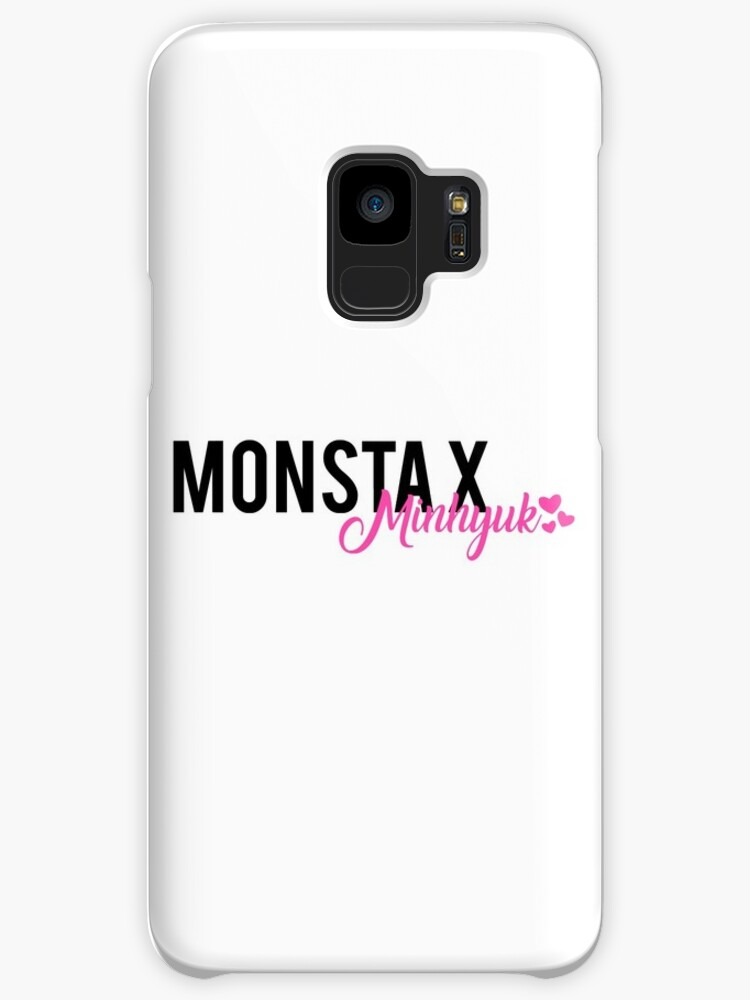 Monsta X Minhyuk Text Design by PaolaAzeneth