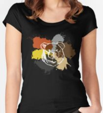 ROBUST BEAR COMMUNITY PRIDE Women's Fitted Scoop T-Shirt
