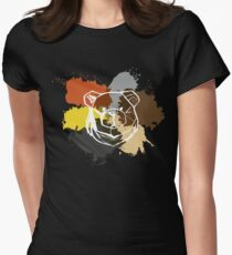 ROBUST BEAR COMMUNITY PRIDE Womens Fitted T-Shirt