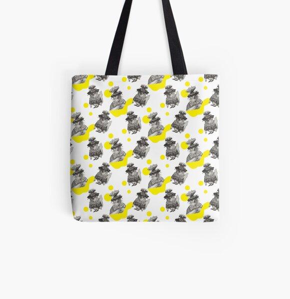 cat All Over Print Tote Bag