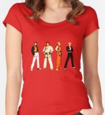 Art of Fighting SNK Women's Fitted Scoop T-Shirt