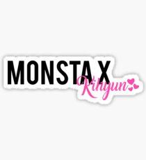 Monsta X Kihyun Text Design Sticker