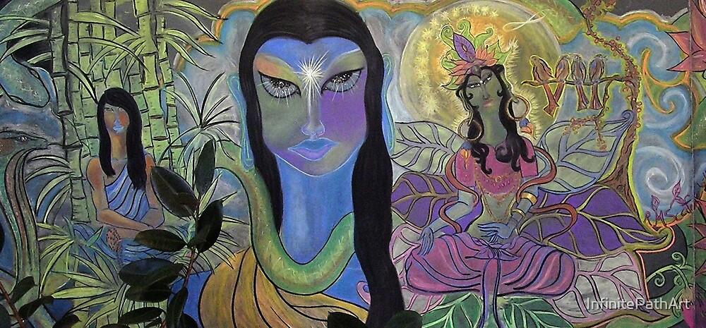 Chalk Meditation #13 (June 2007) by Shining Light Creations