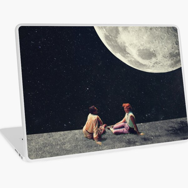 I Gave You The Moon For A Smile Laptop Skin