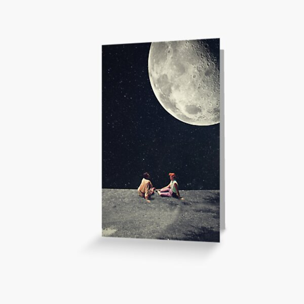 I Gave You The Moon For A Smile Greeting Card
