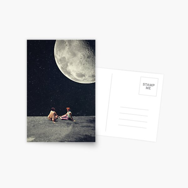 I Gave You The Moon For A Smile Postcard