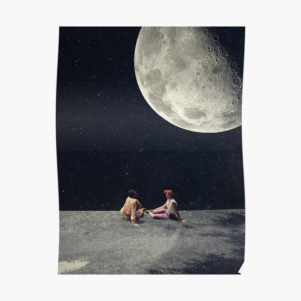Ich gab dir den Mond für ein Lächeln Poster