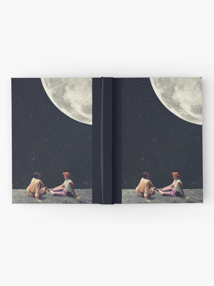 Alternate view of I Gave You The Moon For A Smile Hardcover Journal