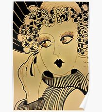 deco dolly,,,,,, House of Harlequin Poster