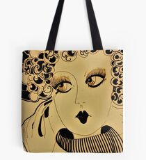 deco dolly,,,,,, House of Harlequin Tote Bag