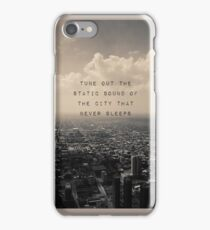 5SOS Disconnected Lyrics iPhone/Samsung Case - 5 Seconds of Summer iPhone Case/Skin