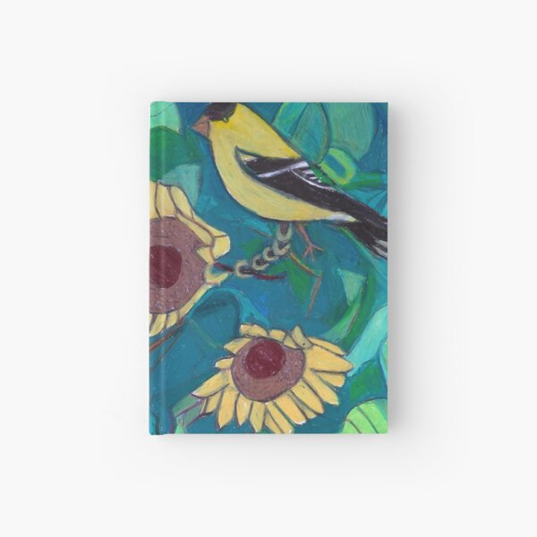 Five Gold Rings Hardcover Journal