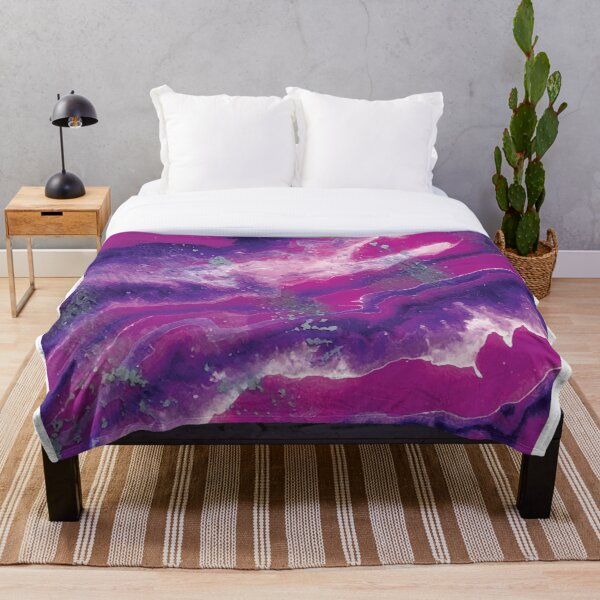 Orchid Visions Throw Blanket