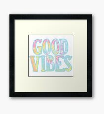 Lámina enmarcada Buenas vibraciones