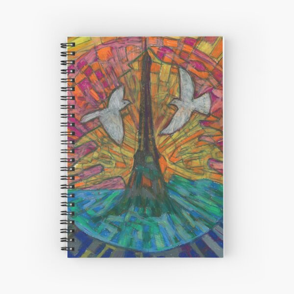 Two Turtle Doves Spiral Notebook