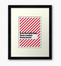 Manchester Framed Print