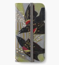 Four Calling Birds iPhone Wallet/Case/Skin