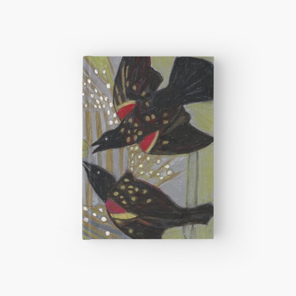 Four Calling Birds Hardcover Journal