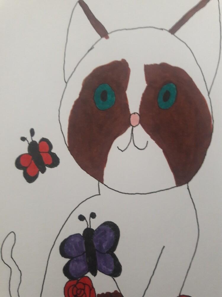 Grumpy Cat by Leafgreencreati