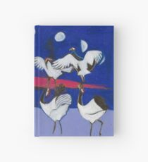Nine Dancing Cranes Hardcover Journal