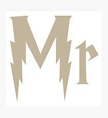 HP Mr. Photographic Print