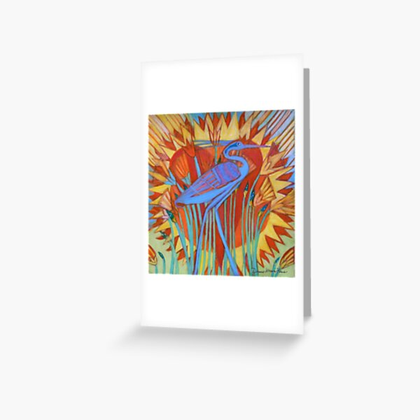 Bennu Greeting Card