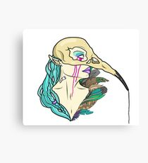Bird Mask Canvas Print