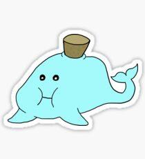 Corked Whale Sticker