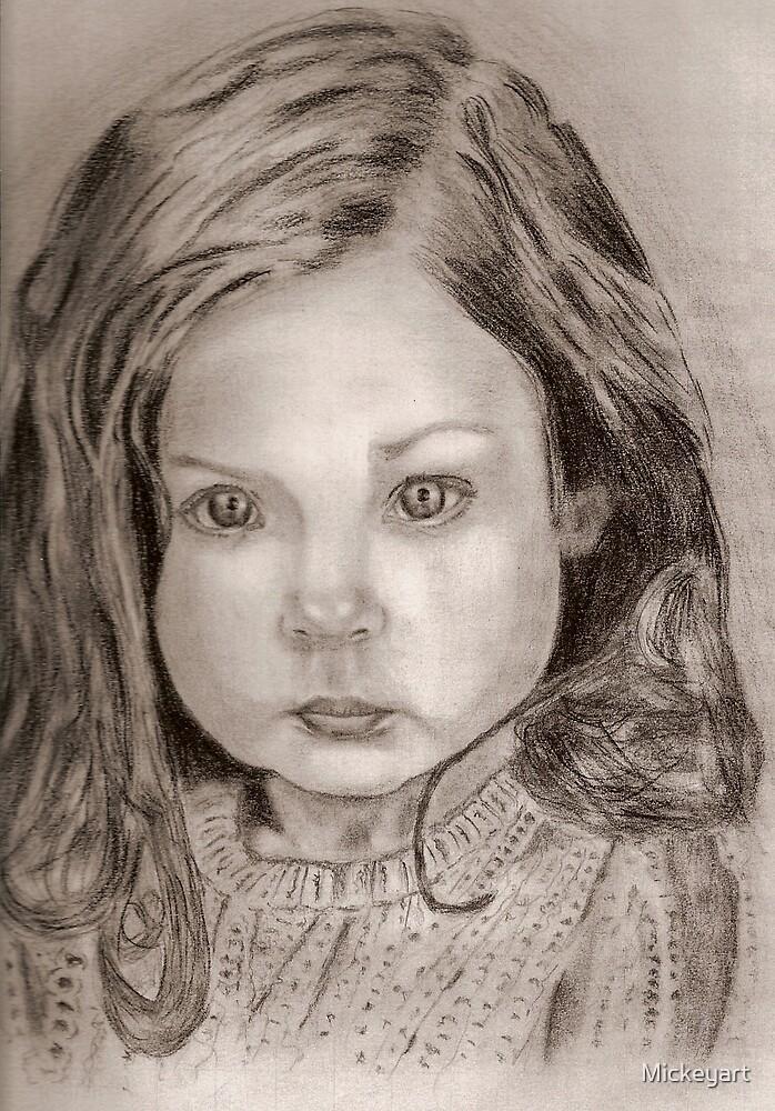 LITTLE GIRL by Mickeyart