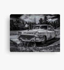 Rusty Old Studebaker  Canvas Print