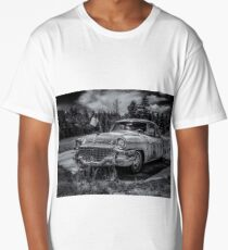 Rusty Old Studebaker  Long T-Shirt