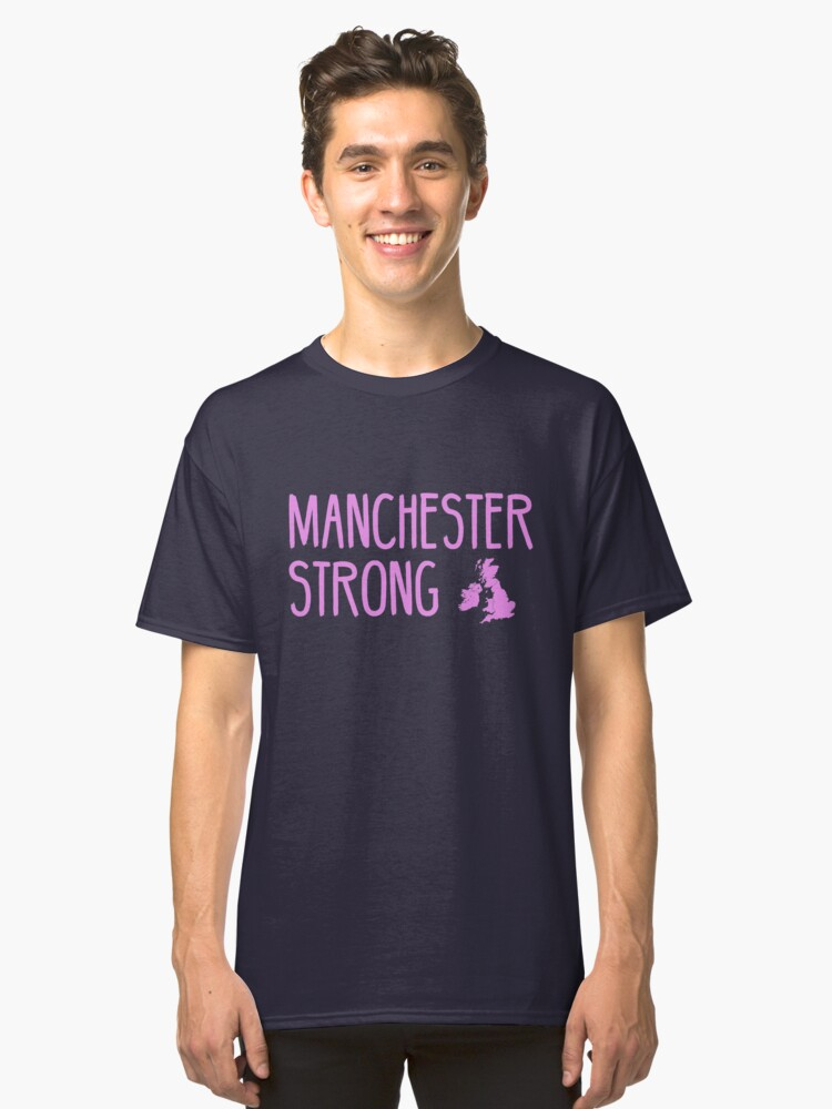 MANCHESTER STRONG Classic T-Shirt Front