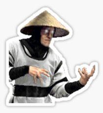 Mortal Kombat Sticker Series - Raiden MK1 Sticker