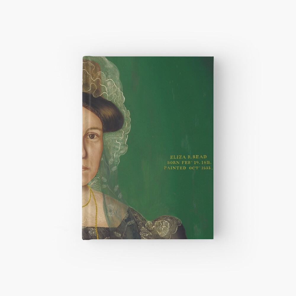 Eliza R. Read Oil Painting by Royall Brewster Smith Hardcover Journal