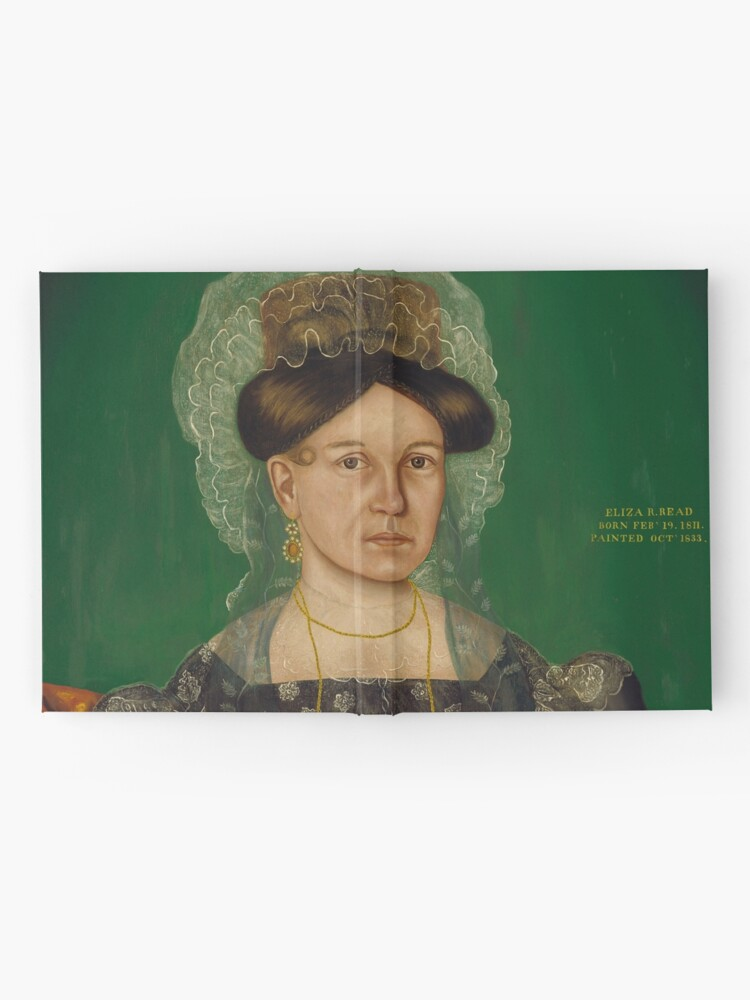 Alternate view of Eliza R. Read Oil Painting by Royall Brewster Smith Hardcover Journal