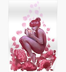 Flowering the love Poster