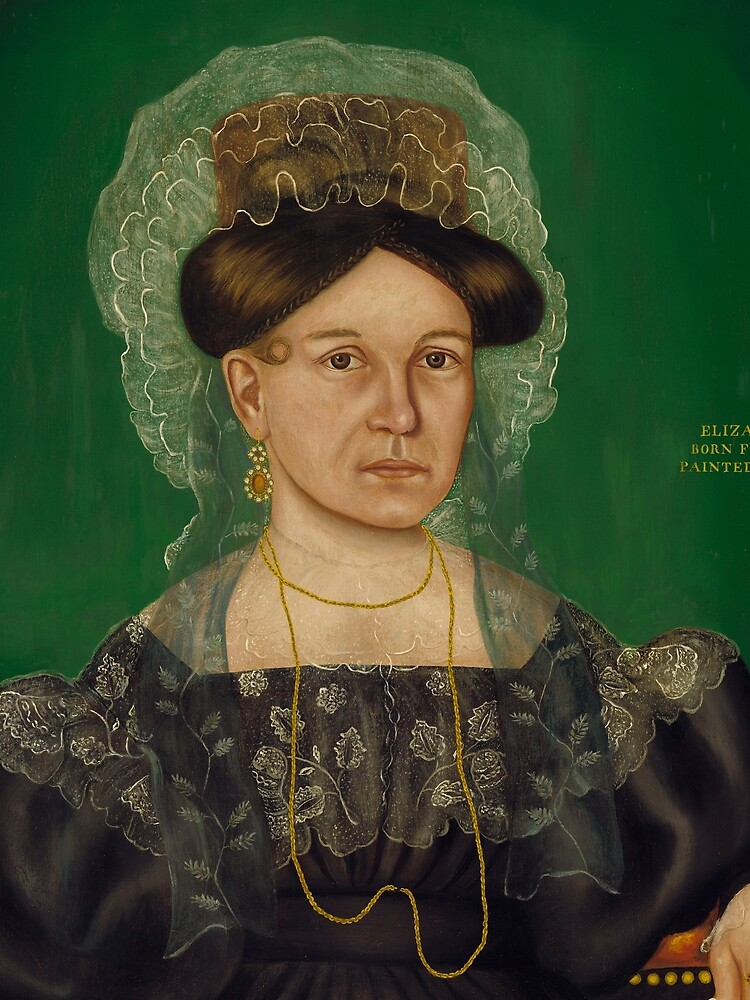 Eliza R. Read Oil Painting by Royall Brewster Smith by podartist