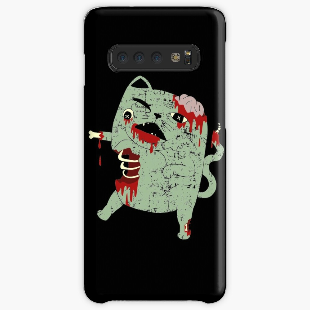 Zombie Cat Case & Skin for Samsung Galaxy