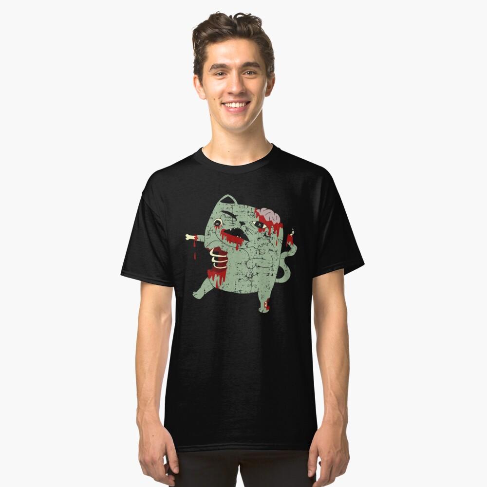 Zombie Cat Classic T-Shirt